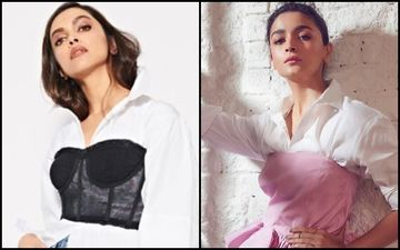 Deepika Padukone Or Alia Bhatt- Who Is HOTTER In The Corset Over Shirt Look?