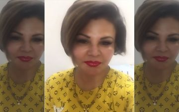 Rakhi Sawant Loves Her Fans Even If They Abuse Her; Her FAKE Louis Vuitton Top Catches Our Eye-VIDEO