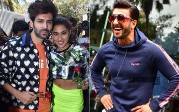 Love Aaj Kal Trailer Launch: Kartik Aaryan Thanks Ranveer Singh And Says, 'I'm Glad That Ranveer Ne Meri Aur Sara Ki Jodi Banayi'
