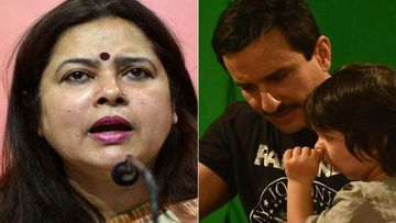 BJP's Meenakshi Lekhi Targets 3-Year-Old Taimur Ali Khan After Saif's No Concept Of India Before British Statement