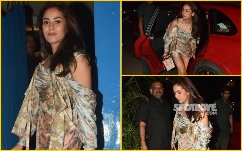 Mira Rajput's SEXY, TINY Drape Dress Is Just The Perfect Pick For A Romantic Date Night!