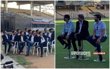'83 Poster Reveal: Ranveer Singh, Kapil Dev And Team Pose For The Winning Cup Picture- EXCLUSIVE