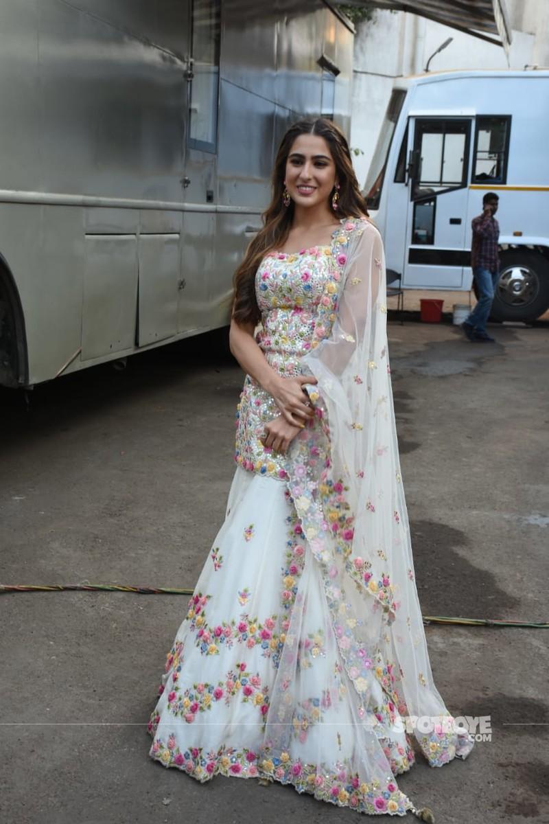 Sara Ali Khan at Love Aaj Kal promotions