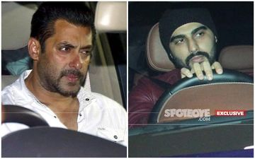 Salman Khan And Arjun Kapoor's Cars Halted Next To Each Other At A Traffic Signal, What Happened Next?- EXCLUSIVE