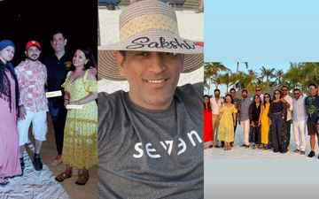MS Dhoni Serves Pani-Puri To RP Singh, Plays Volleyball In Maldives Vacay With Family And Friends-WATCH VIDEO