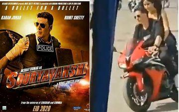 Sooryavanshi LEAKED Video: Akshay Kumar And Katrina Kaif Ride A Sports Bike As They Shoot For Na Ja Song