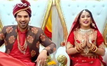 Mujhse Shaadi Karoge: Paras Chhabra - Shehnaaz Gill Shoot Their Swayamvar Promo While In Bigg Boss 13; Dress Up As Dulha-Dulhan - Watch