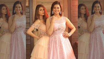 Shweta Tiwari And Daughter Palak Tiwari Look Royally Ethereal As They Twin In Sheer Gowns