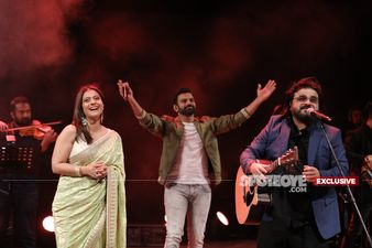 9XM On Stage With Pritam: Music Maestro Wows The Audience With His Delightful Performance As Kajol Joins – PICS