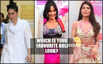 Katrina Kaif's Fusion Touch, Kareena Kapoor Khan's Hassle-Free Look Or Jacqueline Fernandez's Ethnic Tadka- What's Your Most Relatable Holi Avatar?- EXCLUSIVE