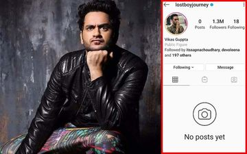Vikas Gupta Deletes All His Instagram Posts A Day After His Quarantine Birthday; We Wonder Why?
