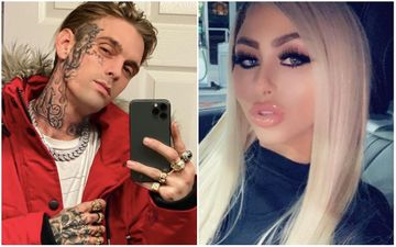 Aaron Carter's Pregnant Ex Melanie Martin Goes Live On Porn Camera Hours Before Calling Him A 'Clown' - OUCHIE