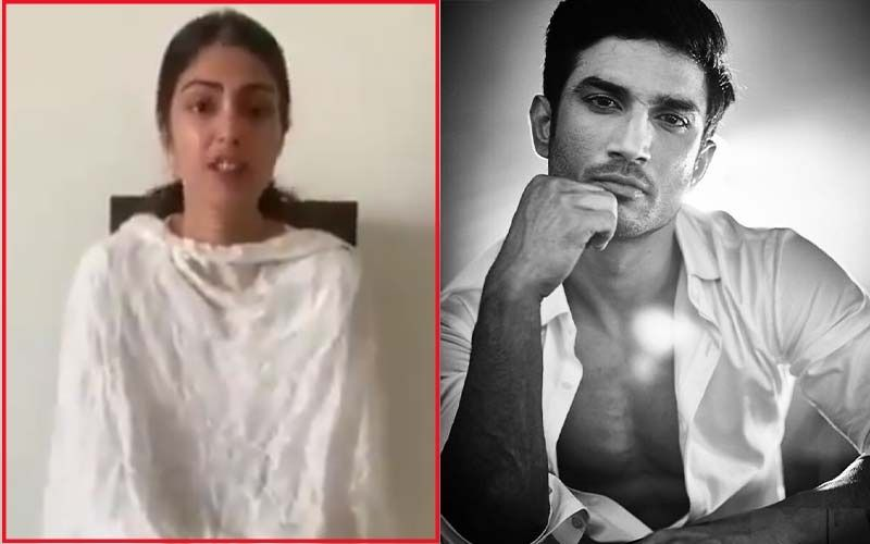BREAKING: Teary-eyed Rhea Chakraborty Says 'Justice Will Prevail' After Sushant Singh Rajput's Father Does An FIR Against Her- VIDEO HERE