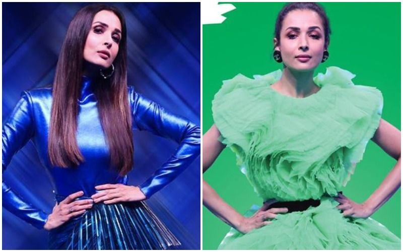 Malaika Arora's Cabbage Savage Or Electric Blue Look- Would You Dare To Don Any?