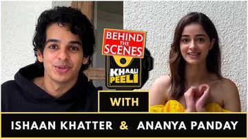 Ananya Panday And Ishaan Khattar Play The Khaali Peeli Rapid Fire: WATCH VIDEO