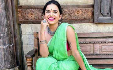 Mitali Mayekar Flaunts Her Plunging Neckline In This Yellow Summer Dress