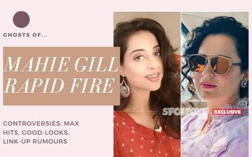 'Kangana Ranaut Has The Ghost Of Controversies': Durgamati Actress Mahie Gill's 'Ghostly' RAPID FIRE- EXCLUSIVE VIDEO
