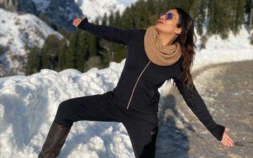 Raveena Tandon Turns 'Switzerland Ka Shah Rukh Khan' As She Recreates SRK's Signature Pose In Himachal Pradesh- PICS
