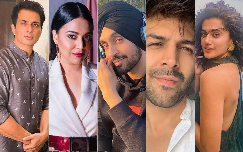 Social Media Rockstars Of 2020: Sonu Sood, Swara Bhasker, Diljit Dosanjh, Kartik Aaryan And Taapsee Pannu Put Social Media To Good Use