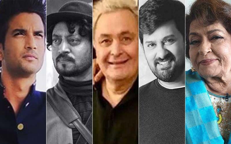 Sushant Singh Rajput, Irrfan Khan, Rishi Kapoor, Wajid Khan, Saroj Khan; Remembering Those Who Left Us In The Year 2020