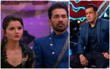 Bigg Boss 14 Feb 7 SPOILER ALERT: Salman Khan Questions Abhinav- Rubina For Criticizing The Show; Rubina's Sis Shares Insights About Her Behaviour