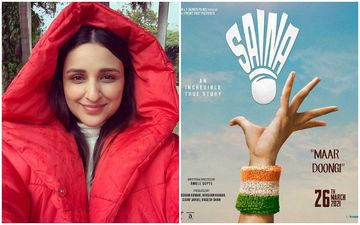 Saina: Makers Of Parineeti Chopra Starrer TROLLED For Gaffe In The Poster; Netizens Ask 'Is It A Badminton Or Tennis Serve?'