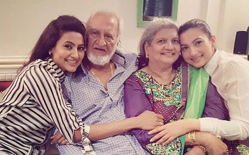 Gauahar Khan's Sister Nigaar Shares A Picture Dedicated To Her Late Father; Says 'Wish I Could Hold You One More Time'