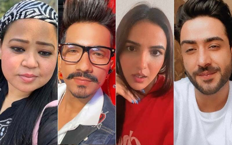 Happy Birthday Bharti Singh: Ace Comedian Cuts The Cake With Hubby Haarsh  And Close Pals Aly Goni, Jasmin Bhasin; WATCH Unseen Video From Celebrations