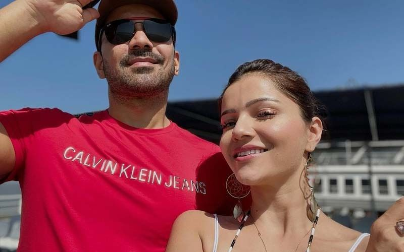 Rubina Dilaik Sets The Internet On Fire As She Shares A Stunning Pic In A Blue Bikini; Says She Is Longing For A Vacation With Hubby Abhinav Shukla