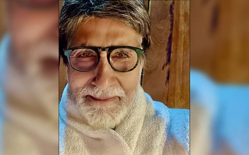 Amitabh Bachchan Finds A New Adorable Pooch Companion On Set; Makes Him Feel 'Cozy And Comfortable In His Arms'; See PICS