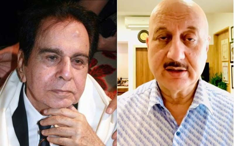 Anupam Kher Didn't Wash His Hands For A Long Time After Meeting Late Legendary Actor Dilip Kumar At A Party He Gatecrashed