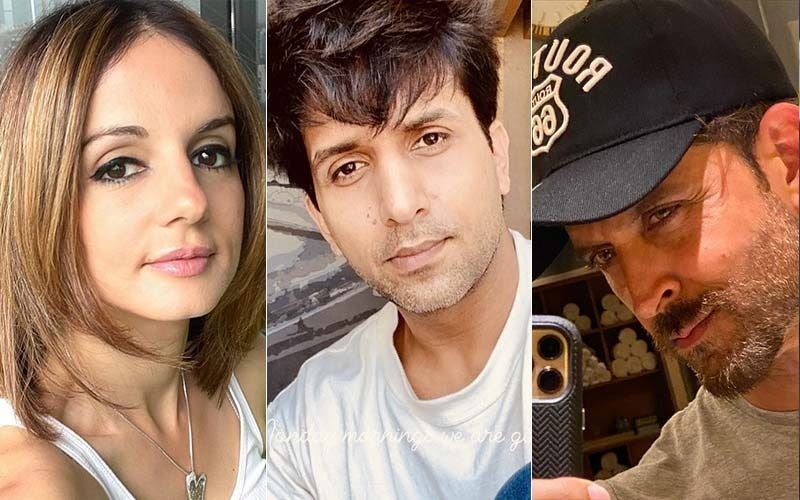 Hrithik Roshan Goes 'Arey Wah' Over Ex-Wife Sussanne Khan's Latest PIC; Her Rumoured BF Arslan Goni's Brother Aly Goni Also Drops A Comment