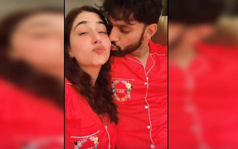 Newlyweds Rahul Vaidya And Disha Parmar's PDA Is The Perfect Antidote To Monday Blues; Watch The Video