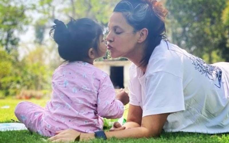 Mom to Be Neha Dhupia Reveals Daughter Mehr Is Eagerly Waiting For Her Sibling, Says She 'Already Has Her Own Name For The Baby'