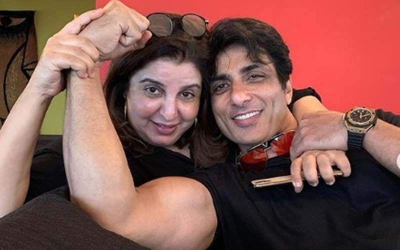 Sonu Sood And Farah Khan Team Up For A Music Video; Actor To Don The Avatar Of A Cop-Deets INSIDE