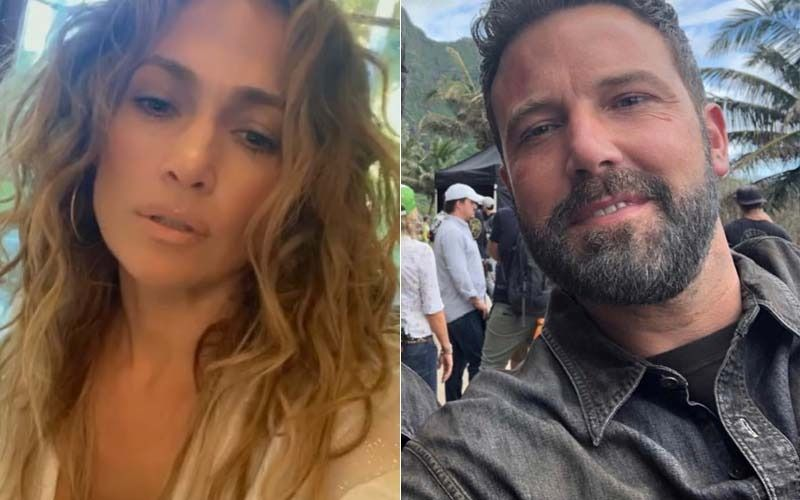 Jennifer Lopez Makes Her Relationship With Ben Affleck Instagram Official; Lovebirds Share Steamy Kiss On the Actress' 52nd birthday-See Pic
