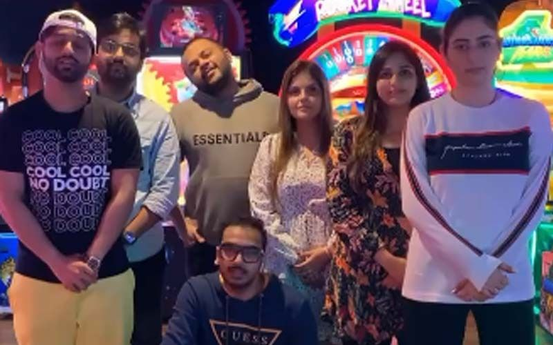 Disha Parmar Invades Hubby Rahul Vaidya's Wardrobe As She Steals His Cosy White Sweatshirt- Watch The Video