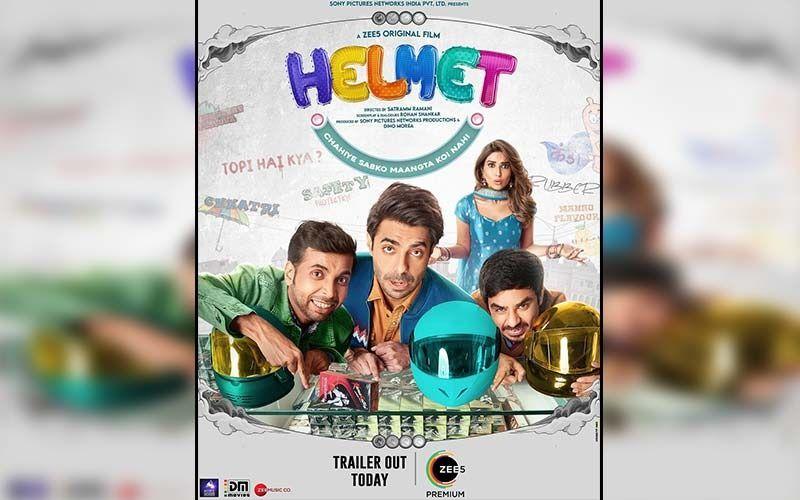 Helmet Trailer OUT: Aparshakti Khurana And Pranutan Bahl Starrer Quirky Comedy Wants To Break The Taboo Around Condoms