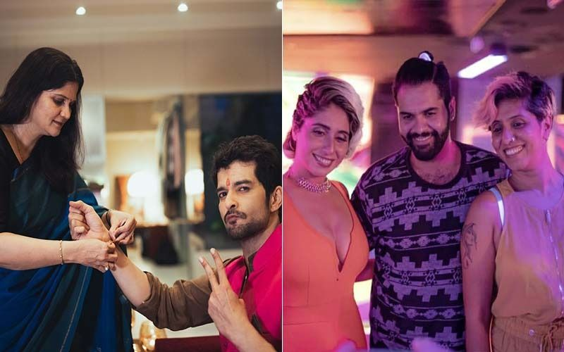 Bigg Boss OTT: Throwback To When Neha Bhasin And Raqesh Bapat Celebrated Raksha Bandhan With Their Siblings Before Entering BB House-See PHOTOS