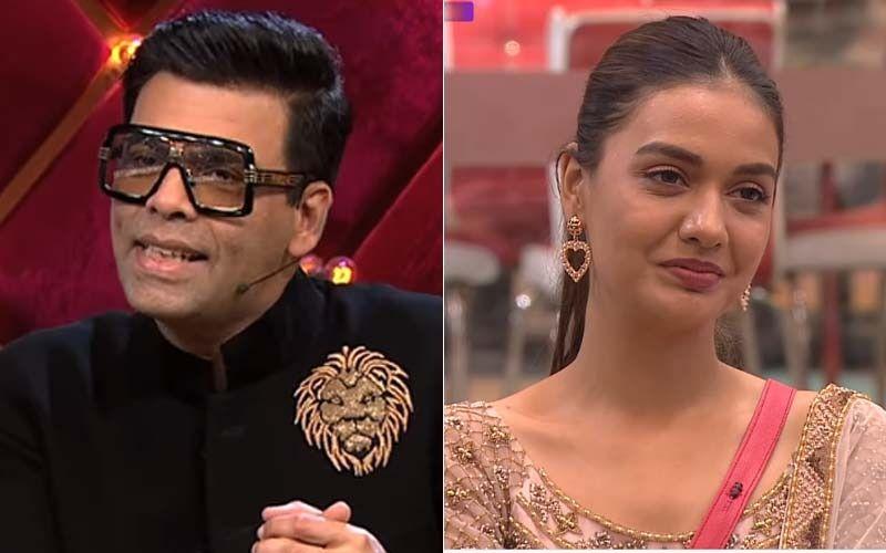 Bigg Boss OTT: Twitterati Slams Karan Johar For Bashing Divya Agarwal And Her Connection Zeeshan Khan; Netizens Call Him A 'Biased Host'