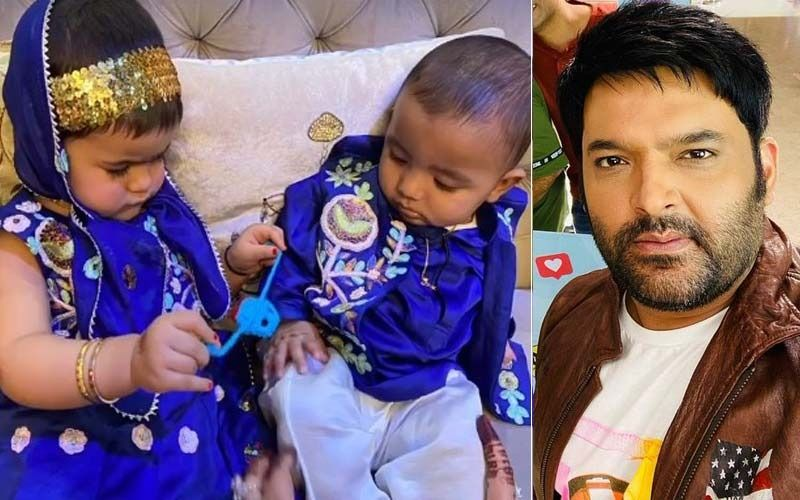 Kapil Sharma Drops Cute Pics Of His Kids Anayra And Trishaan From Their First Raksha Bandhan Celebrations