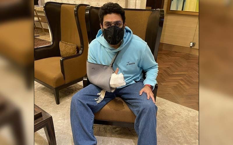 Abhishek Bachchan Resumes Work After A 'Freak Accident' And Surgery; Says, 'The Show Must Go On'
