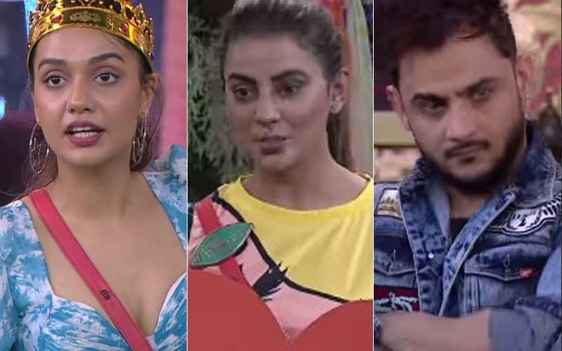 Bigg Boss OTT: Divya Agarwal, Milind Gaba And Akshara Singh Sit On Dharna As A Mark Of Protest Against Zeeshan Khan's Eviction; Trio Threatens To Walk Out Of The House