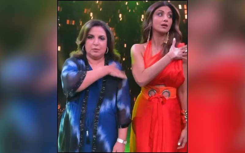 Inside Farah Khan's Happy 'Friends Reunion' With Shilpa Shetty And Geeta Kapoor On The Sets Of Super Dancer Chapter 4; Watch Video