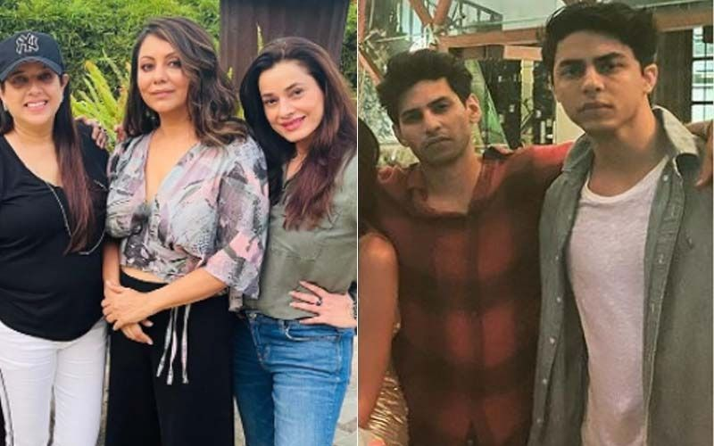 Gauri Khan Spends 'Fun Sunday Evening' With Sussanne Khan And Ekta Kapoor; Aryan Khan Parties With His Pals-See PICS