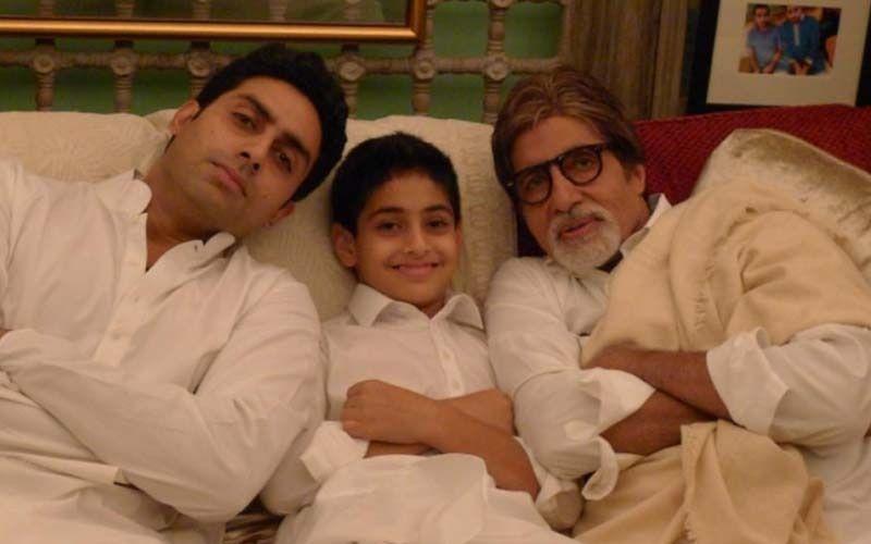 Amitabh Bachchan Drops A Throwback PIC of Himself Playing Football With Wife Jaya Bachchan; Can You Spot Young Abhishek Bachchan And Shweta?