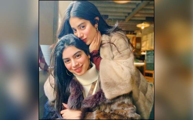 Janhvi Kapoor And Khushi Kapoor Step Out For A Lunch Date In The City; Sisters Rock The Casual Yet Stylish Look-See PICS