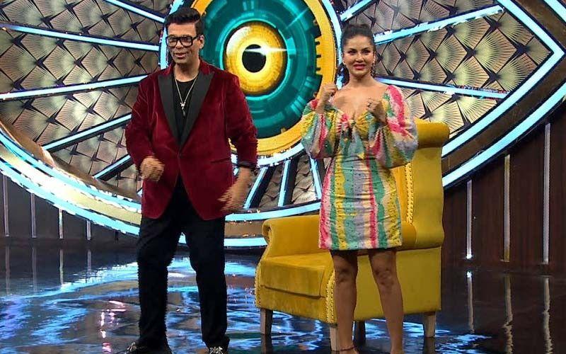 Bigg Boss OTT Sunday Ka Vaar: Sunny Leone Graces The Episode With Karan Johar; Actress Reaches The Sets-See Pics