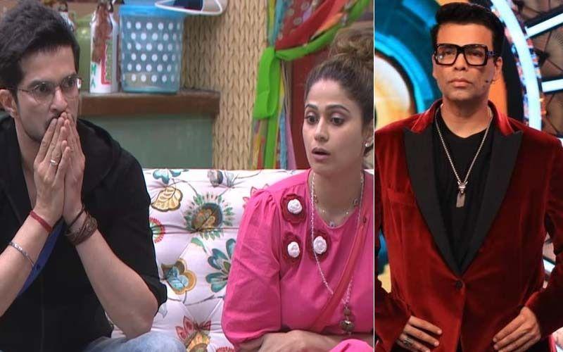 Bigg Boss OTT: Host Karan Johar Teases Raqesh Bapat And Shamita Shetty; Announces There'll Be No Eviction This Weekend