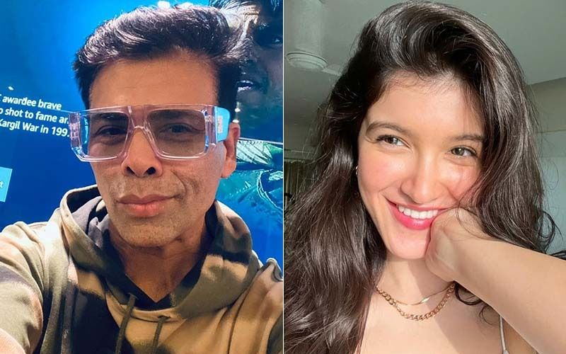 Karan Johar Gives A Sweet Shout Out To Shanaya Kapoor For Her First Ad; Actress Makes A Huge Mess While She Eats Spaghetti-Watch